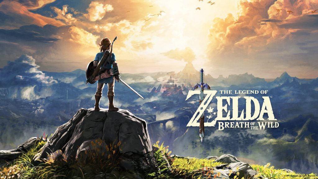 The Legend of Zelda: Breath of the Wild cover art. Also a link to the Legend of Zelda vocabulary list.