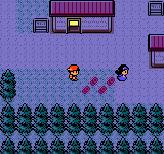 Cherrygrove City from Pokemon Crystal. Link to Let Me Introduce You to Route 29 and Cherrygrove City Part 1.