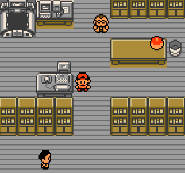 Professor Elm's Lab from Pokemon Crystal. Link to Let Me Introduce You to New Bark Town.