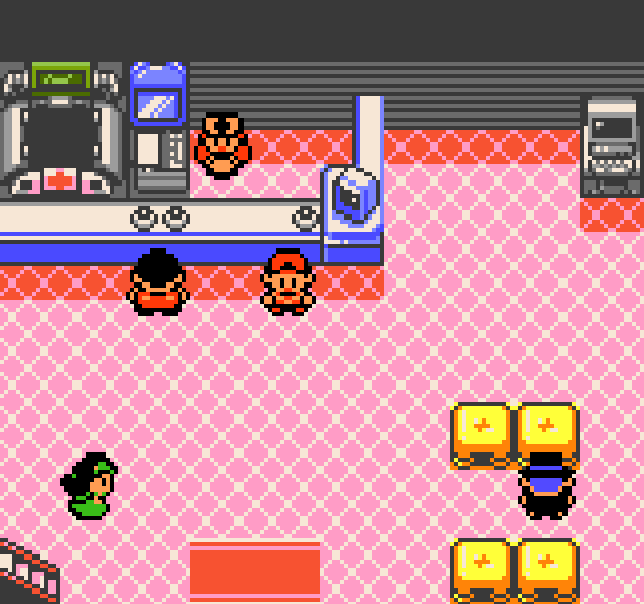 Cherrygrove City from Pokemon Crystal. Link to Let Me Introduce You to Route 29 and Cherrygrove City Part 2.