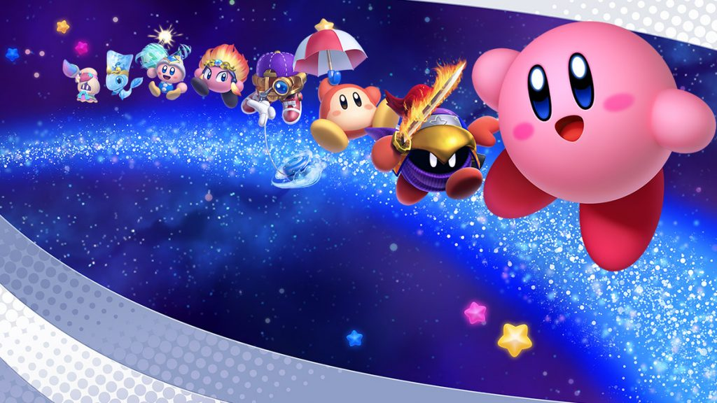Kirby Star Allies art. Also a link to the Kirby vocabulary list.